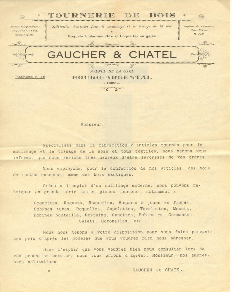 Tournerie sur bois Gaucher et Chatel Gites de Palerne