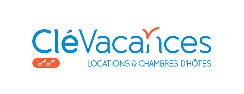 Logo clévancances 2 clés bourg-argentan gite de paterne loire meublé location vacances saisonnière parc du pilât